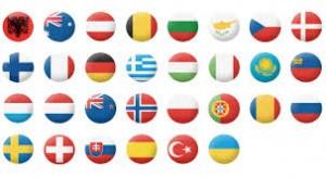 Países de todo el MUNDO